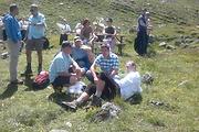 Gemütliche Rast auf der Niederelbehütte mit Tim Mälzer