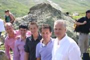 Martin Sieberer, Martin Herrmann, Ivo Adam, Franz Fuiko, Gerrit Greveling